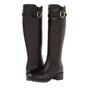 Salvatore ferregamo Robespierre leather tall boot